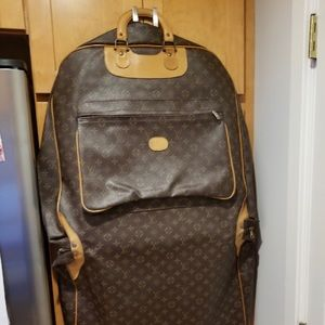 Authentic Vintage Louis Vuitton Garment Bag